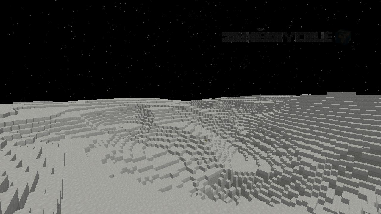 Měsíc povrch